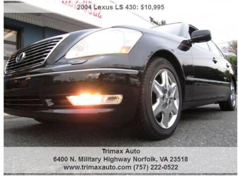 2004 Lexus LS 430 for sale at Trimax Auto Group in Norfolk VA