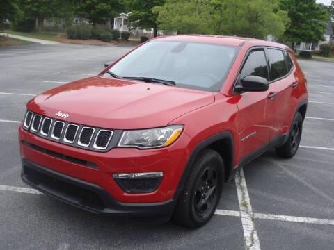 2018 Jeep Compass for sale at Uniworld Auto Sales LLC. in Greensboro NC
