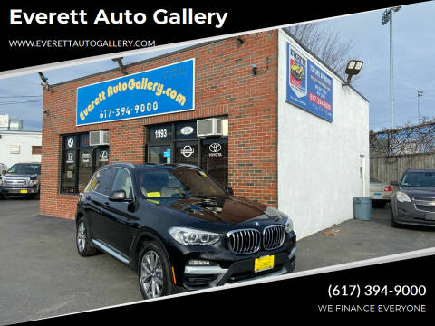 2019 BMW X3 for sale at Everett Auto Gallery in Everett MA