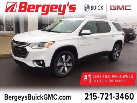 2018 Chevrolet Traverse for sale at Bergey's Buick GMC in Souderton PA