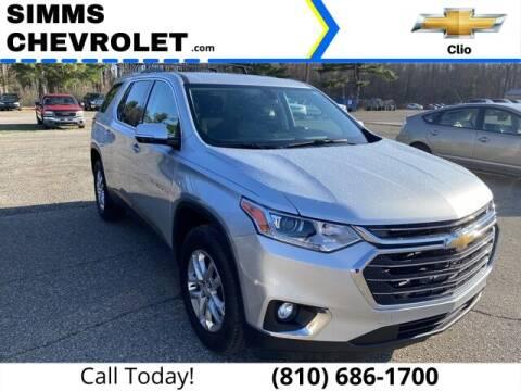 2018 Chevrolet Traverse for sale at Aaron Adams @ Simms Chevrolet in Clio MI