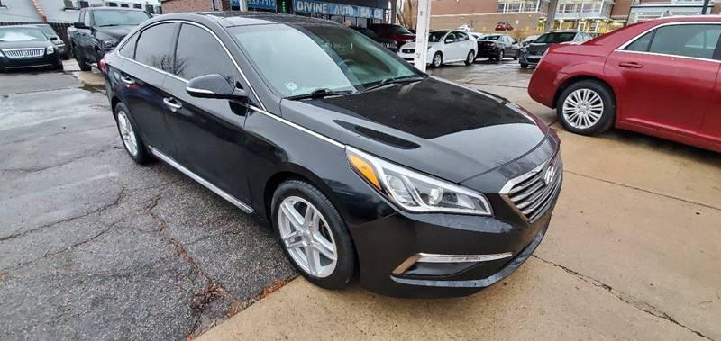 2015 Hyundai Sonata for sale at Divine Auto Sales LLC in Omaha NE