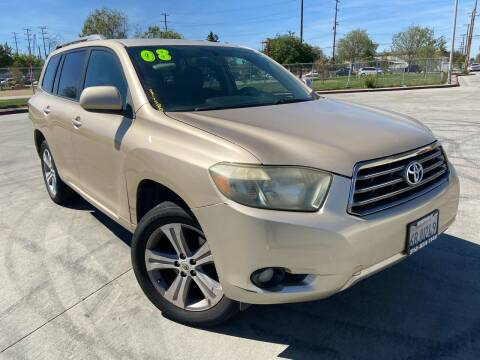 2008 Toyota Highlander for sale at Affordable Auto Solutions in Wilmington CA