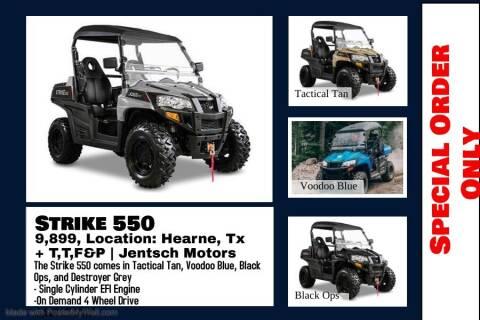 2021 HISUN STRIKE 550 for sale at JENTSCH MOTORS in Hearne TX
