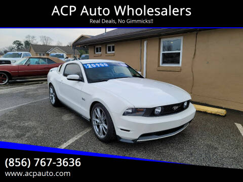 2011 Ford Mustang for sale at ACP Auto Wholesalers in Berlin NJ