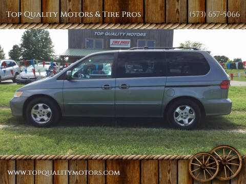2001 Honda Odyssey for sale at Top Quality Motors & Tire Pros in Ashland MO