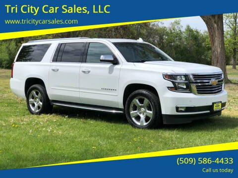 2017 Chevrolet Suburban for sale at Tri City Car Sales, LLC in Kennewick WA