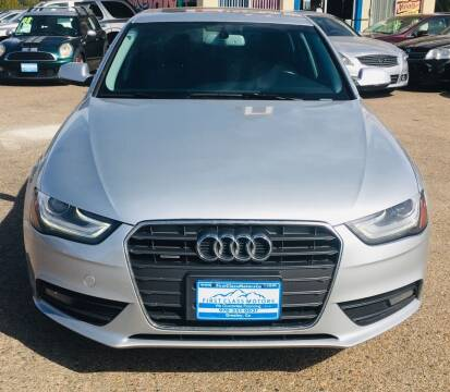 2013 Audi A4 for sale at First Class Motors in Greeley CO