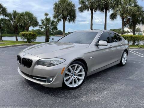 2011 BMW 5 Series for sale at Vogue Auto Sales in Pompano Beach FL