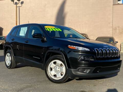 2016 Jeep Cherokee for sale at Cars 2 Go in Clovis CA