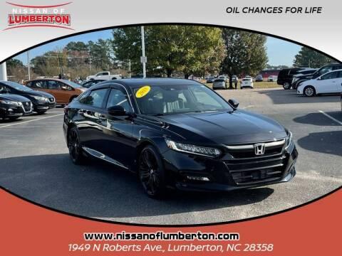 2018 Honda Accord for sale at Nissan of Lumberton in Lumberton NC
