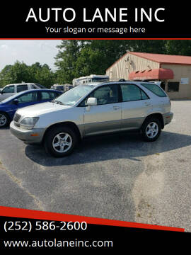 2000 Lexus RX 300 for sale at AUTO LANE INC in Henrico NC