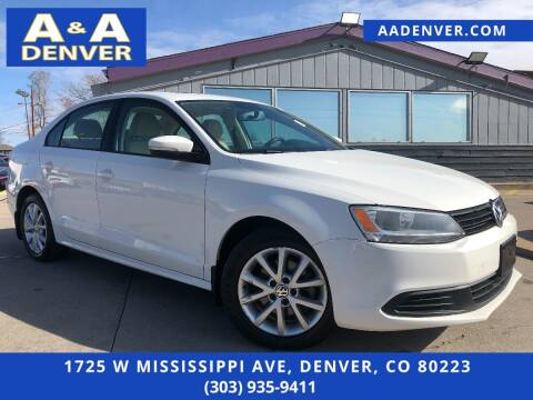 2012 Volkswagen Jetta for sale at A & A AUTO LLC in Denver CO
