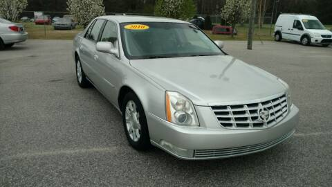 2010 Cadillac DTS for sale at Kelly & Kelly Supermarket of Cars in Fayetteville NC