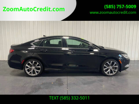 2015 Chrysler 200 for sale at ZoomAutoCredit.com in Elba NY