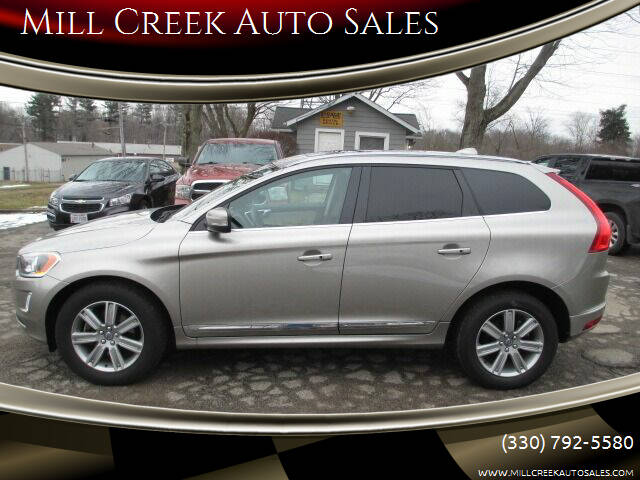 2016 Volvo XC60 for sale at Mill Creek Auto Sales in Youngstown OH