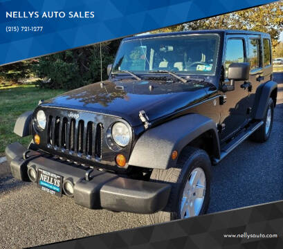 2009 Jeep Wrangler Unlimited for sale at NELLYS AUTO SALES in Souderton PA