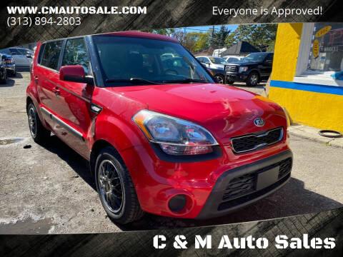 2013 Kia Soul for sale at C & M Auto Sales in Detroit MI