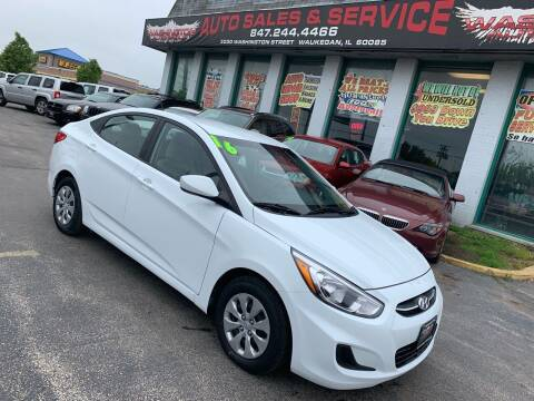 2016 Hyundai Accent for sale at Washington Auto Group in Waukegan IL