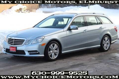 2013 Mercedes-Benz E-Class for sale at My Choice Motors Elmhurst in Elmhurst IL