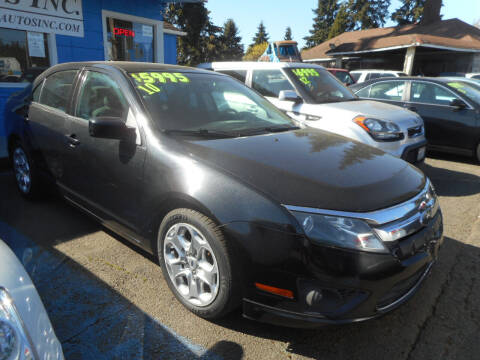 2010 Ford Fusion for sale at Lino's Autos Inc in Vancouver WA
