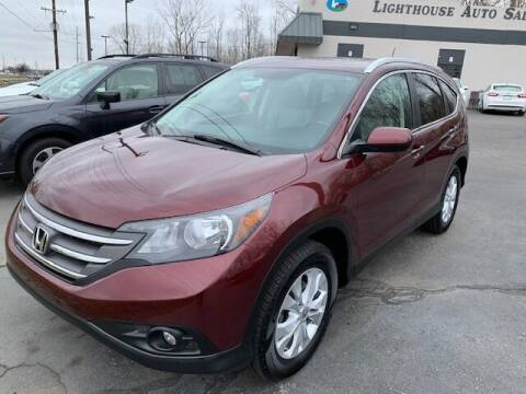 2014 Honda CR-V for sale at Lighthouse Auto Sales in Holland MI