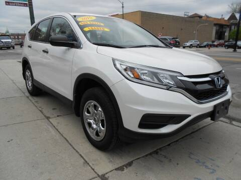 2015 Honda CR-V for sale at Metropolitan Automan, Inc. in Chicago IL