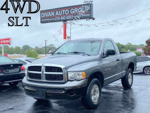 2005 Dodge Ram Pickup 1500 for sale at Divan Auto Group in Feasterville Trevose PA