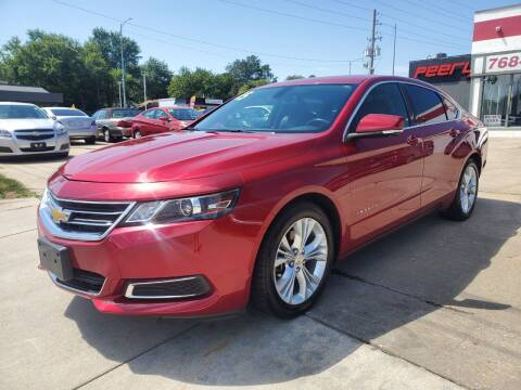 2015 Chevrolet Impala for sale at Quallys Auto Sales in Olathe KS
