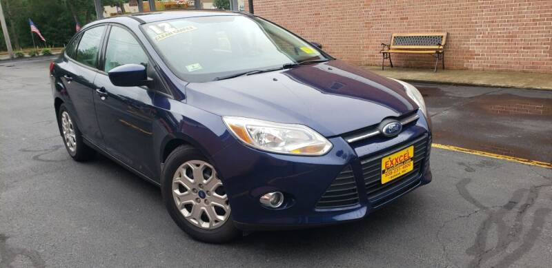 2012 Ford Focus for sale at Exxcel Auto Sales in Ashland MA