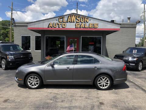 2010 Ford Fusion for sale at Clawson Auto Sales in Clawson MI
