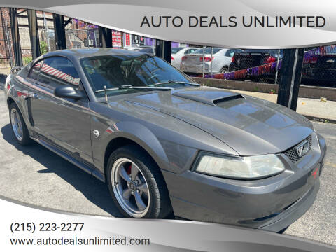 2004 Ford Mustang for sale at AUTO DEALS UNLIMITED in Philadelphia PA