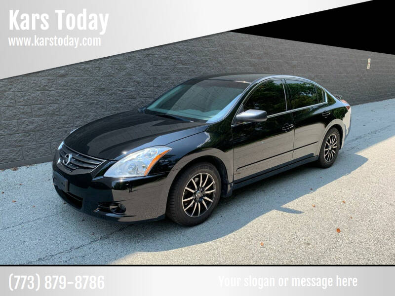 2012 Nissan Altima for sale at Kars Today in Addison IL