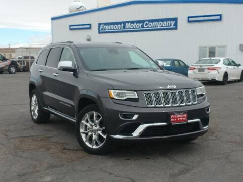 2016 Jeep Grand Cherokee for sale at Rocky Mountain Commercial Trucks in Casper WY