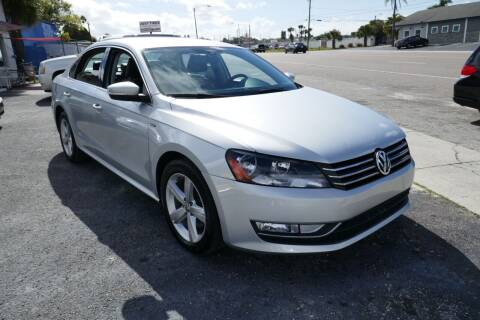 2015 Volkswagen Passat for sale at J Linn Motors in Clearwater FL