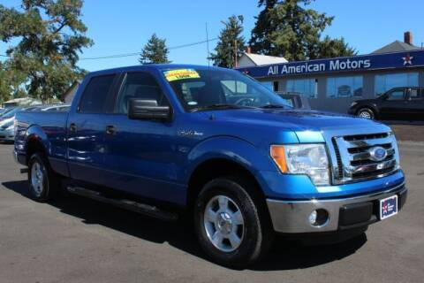 2011 Ford F-150 for sale at All American Motors in Tacoma WA