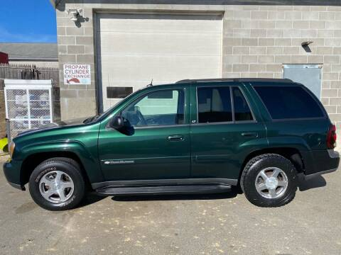 2004 Chevrolet TrailBlazer for sale at Pafumi Auto Sales in Indian Orchard MA