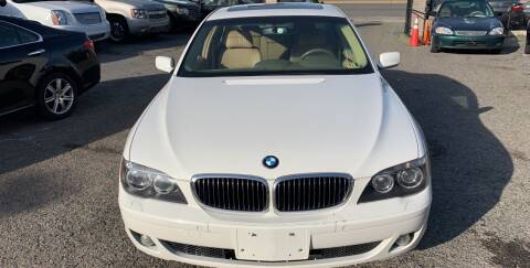 2007 BMW 7 Series for sale at A & R Motors in Richmond VA