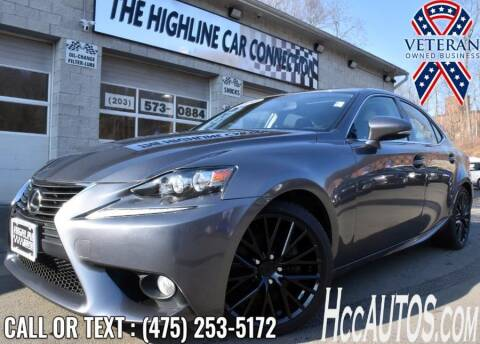2014 Lexus IS 250 for sale at The Highline Car Connection in Waterbury CT