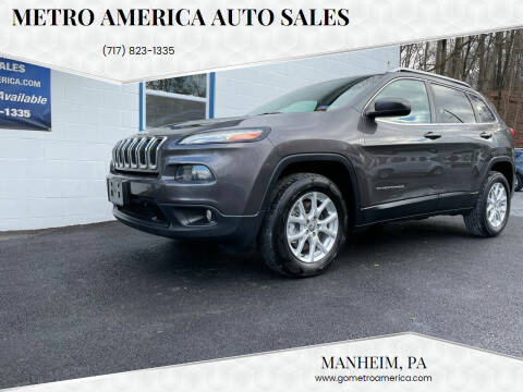 2014 Jeep Cherokee for sale at METRO AMERICA AUTO SALES of Manheim in Manheim PA