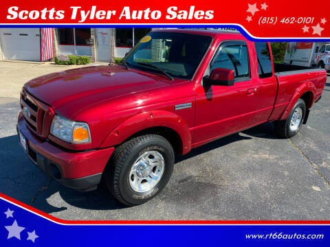 2010 Ford Ranger for sale at Scotts Tyler Auto Sales in Wilmington IL