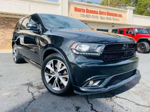 2014 Dodge Durango for sale at North Georgia Auto Brokers in Snellville GA