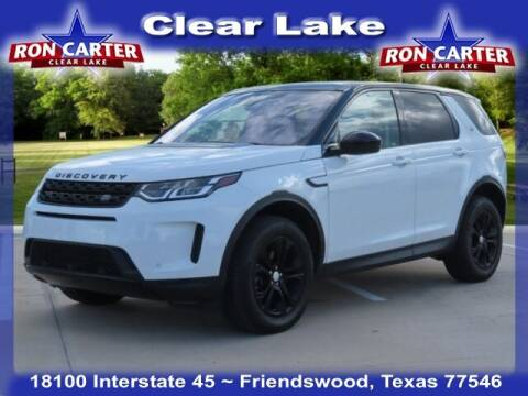 2020 Land Rover Discovery Sport for sale at Ron Carter  Clear Lake Used Cars in Houston TX