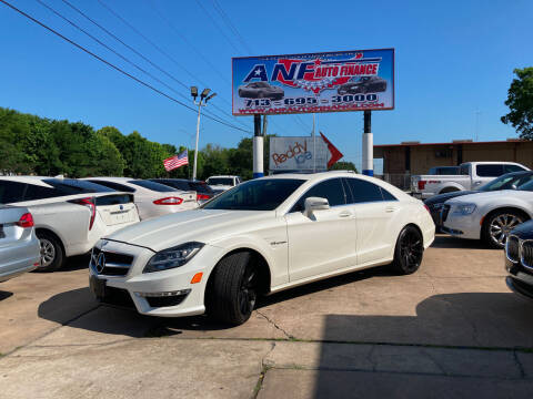 2013 Mercedes-Benz CLS for sale at ANF AUTO FINANCE in Houston TX