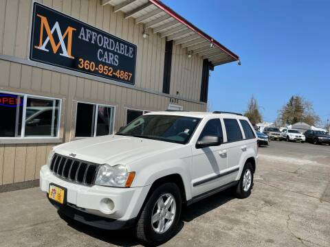 2007 Jeep Grand Cherokee for sale at M & A Affordable Cars in Vancouver WA