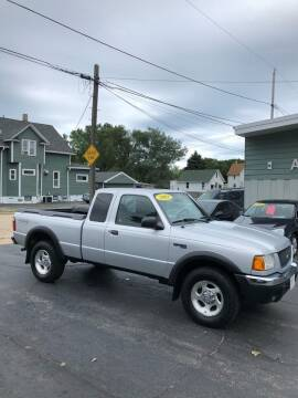 2001 Ford Ranger for sale at SHEFFIELD MOTORS INC in Kenosha WI