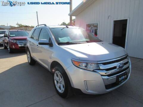 2014 Ford Edge for sale at TWIN RIVERS CHRYSLER JEEP DODGE RAM in Beatrice NE