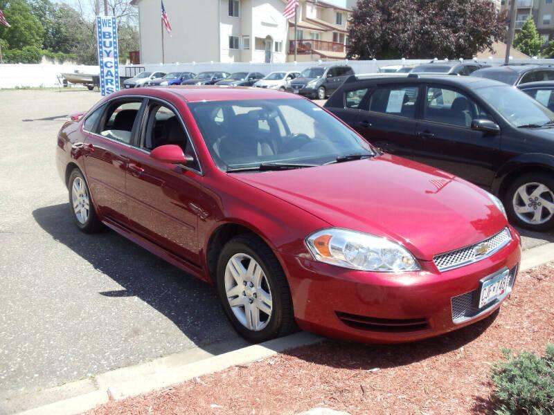 2012 Chevrolet Impala for sale at Metro Motor Sales in Minneapolis MN