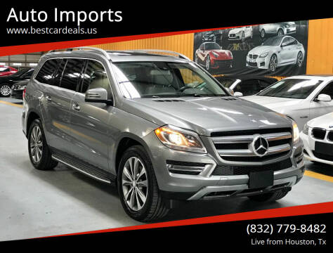 2014 Mercedes-Benz GL-Class for sale at Auto Imports in Houston TX