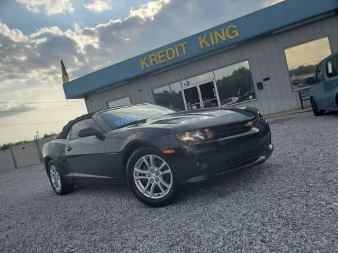 2015 Chevrolet Camaro for sale at Kredit King Autos in Montgomery AL
